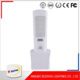 Indicatore luminoso alimentabile di notte del LED, indicatore luminoso senza fili dell'interno di notte