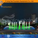 Música y baile el agua del lago Fontana