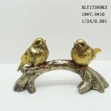 Statue de meilleure vente en gros des ornements de la résine figurines d'oiseaux