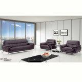 Sofa en cuir de attente commercial contemporain pour le bureau