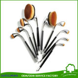 9pcs OEM ODM Golden Golf fonctionnel brosse de maquillage pour Make up Artists avec