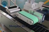Pegatina automática horizontal de la máquina de etiquetado para tubo de papel