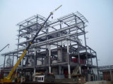 Montaggio dell'acciaio della costruzione del magazzino del workshop più a basso costo & della struttura d'acciaio