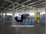 compresseur d'air rotatoire industriel de vis d'air de 15kw 20HP