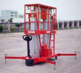Платформа воздушной работы двойного высокого качества рангоута алюминиевая