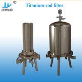 Le moins cher 304Poids léger en acier inoxydable unique coeur de la cartouche du filtre du boîtier de filtre pour la bière de l'équipement de l'industrie chimique