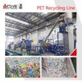 Máquina de reciclaje plástica de la última de la tecnología botella del animal doméstico