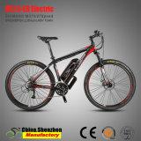 26er 27.5er алюминиевых горных велосипедов с электроприводом с полной приостановки вилочного захвата