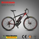 26er 27.5er Aluminiumgebirgselektrisches Fahrrad mit voller Aufhebung-Gabel