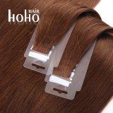 PRO castanho 20 polegadas retas fita invisível no cabelo humano