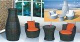 Sofà esterno stabilito del salotto della mobilia del balcone del rattan della mobilia del sofà di vimini