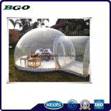 Belüftung-transparentes kampierendes aufblasbares Luftblasen-Zelt