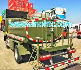 6 rodas pequeno carrinho de água, 4000 litros de água carting veículo