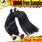 Bon choix en brésilien noir de jais Remy Hair