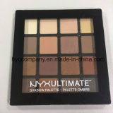 Gamma di colori impermeabile dell'ombretto ultimi 16 professionali di trucco di Nyx