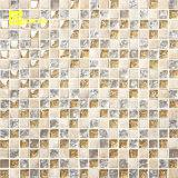 Barato preço mosaico de vidro para banheiro azulejos do piso (R15040)