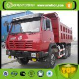 Shacman 6*4 경량 정면 드는 덤프 트럭