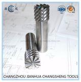 Высокая точность несколько выемок сплошной конец спирали из карбида вольфрама мельница для фрезерования специальной металлической,стали алюминиевого сплава,титанового сплава,углекислого,пластиковые,акриловый,ПВХ,PCB,etc