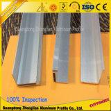 Marco de aluminio anodizado fabricante de la protuberancia de China para el panel solar