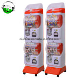 Двойной слой Gashapon капсула машины монеты дозирования игрушек игрушка поставщика торговых автоматов