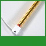 Goud Met een laag bedekte het Verwarmen van het Halogeen Lampen 500W