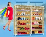 Equipamento para Engraxar os Sapatos de armário de racks de grande capacidade de armazenamento de dados móveis domésticos DIY Rack Sapata portátil simples (FS-11E) 2018