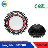 100%厳密な力のQualiyフィリップスチップMWドライバーIP67 100With150With200W円形UFO Highbay LEDライト