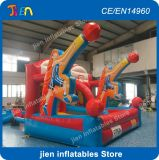 4*3m Большой надувной баскетбольное кольцо игры, гигантские надувной баскетбол стрельба игры, дешевые баскетбол Обмакните игрушки