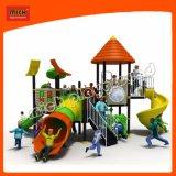 Parque Infantil exterior de plástico para crianças comercial Equipamento