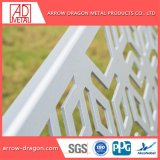 Corte a Laser de painéis de tela de alumínio com pintura metálica/ Mashrabiya Empurrador Jardim/ empurrador de privacidade/ Régua de metal