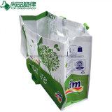 Kurzschluss und lange Griffe lamellierten RPET Einkaufen-Beutel-großen LebensmittelgeschäftTote
