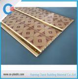 Rainure centrale plafond PVC PVC Fire-Resistant panneau mural pour la décoration intérieure