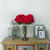 Fabrik direkte künstliche Rose blüht Blumen-Rot Rose