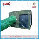 Condicionador de ar de unidade redondo do pacote do telhado do duto de ar