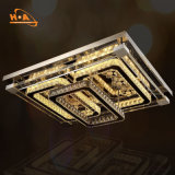 販売のための特大K9水晶LEDの天井によって取付けられるシャンデリア