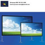 Передний и задний быстро сложить проекционного экрана от 100 до 500 дюймов
