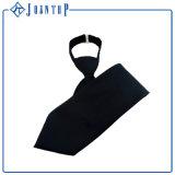 La tirette tissée par soie noire de couleur de sergé attache le type pour le Mens