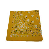 100% coton Square Bandana foulard carré Neckerchief Imprimer Bandana