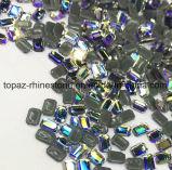 2018 новейший горячая продажа 5прямоугольник горячей фиксации стекла Rhinestone Crystal Копировать Preciosa камня (HF-прямоугольник)