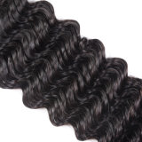 Волнистая бразильская пачки волос выдвижений волна 22inches глубоко