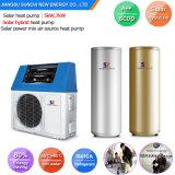 Hybride de source d'air de l'eau chaude 5kw 260L 7kw 9kw solaire