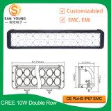 240W CREE 10W 20inch LED nicht für den Straßenverkehr Nebel-heller Stab des Arbeits-heller Stab-24LEDs für das Fahren