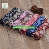 100% dickflüssiger einfarbiger Acajoubaum gedruckte Schal-Form-Dame Moslem Scarf