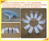 Zoll anodisierter CNC Mahcined 6063 Aluminium 6061 6463