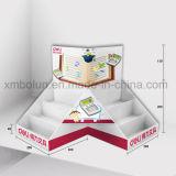 Fácil ensamblar la visualización material del contador del papel de papel de la cartulina