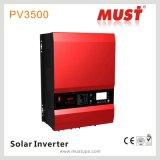 PV3500 quente Efficiendy elevado 10kVA DC48V ao inversor solar puro da onda de seno da C.A. 230V com RS485 10kw
