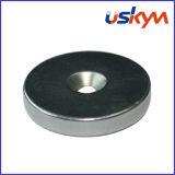 De ronde Magneet van de Aantrekkelijkheid, modelleert een Magnetische Pot/een Magnetische Haak/pmyp-A