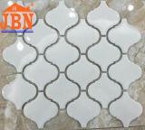 Mosaico Handmade di ceramica di colore della crema di figura della lanterna (C555010)