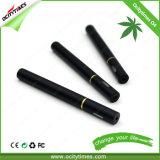 Crayon lecteur remplaçable de vaporisateur de modèle de cigarette professionnelle du noir O4 200puffs E