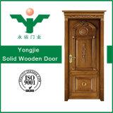 Porte bon marché en bois intérieure en bois creuse/solide composée de Comtemporary